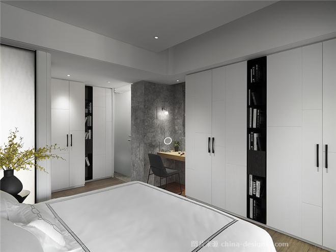 院|拾光-郭�b邑的设计师家园-酒店式公寓,四居,现代简约,奢华高贵,简约大气,闲静轻松,沉稳庄重,棕色,黑色,灰色,白色