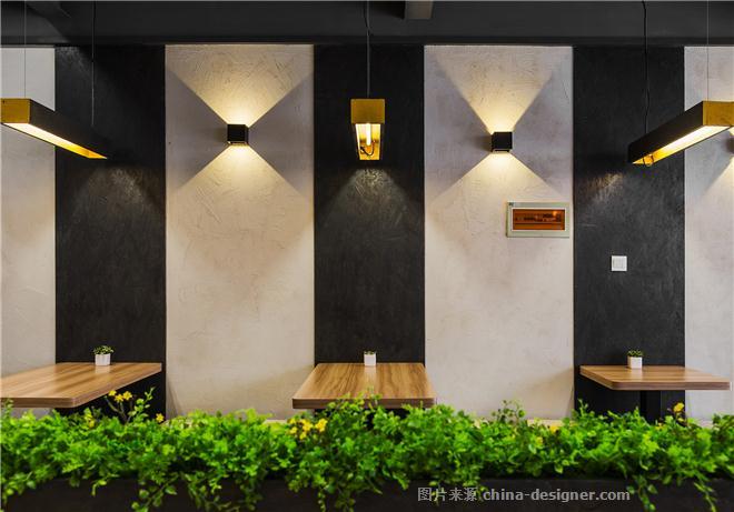 彩斑马空间规划设计的设计师家园-快餐店,现代简约,餐厅设计 餐饮图片