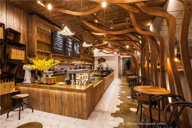 甘蓝咖啡鲲鹏路店-何牧的设计师家园-主题餐厅,混搭,闲静轻松,奢华高贵