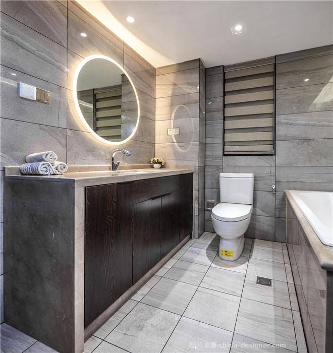 摩登华尔兹-张雯的设计师家园-四居,三居,后现代主义,沉稳庄重,黑色,灰色