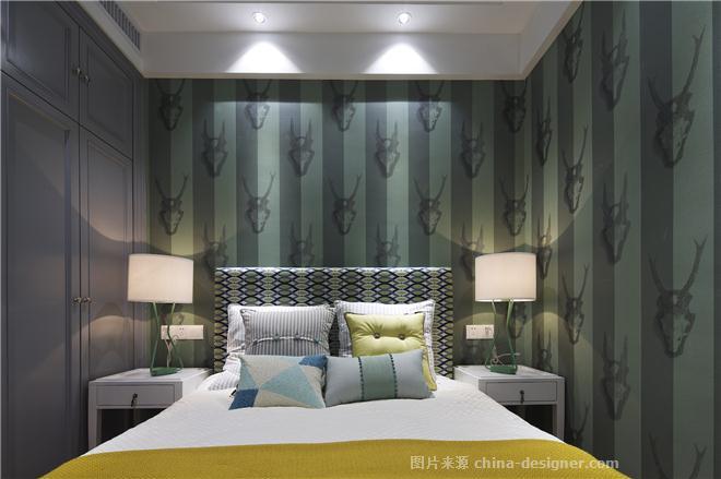 东湖城样板间-张纪中的设计师家园-住宅样板间,简美风格,灰色
