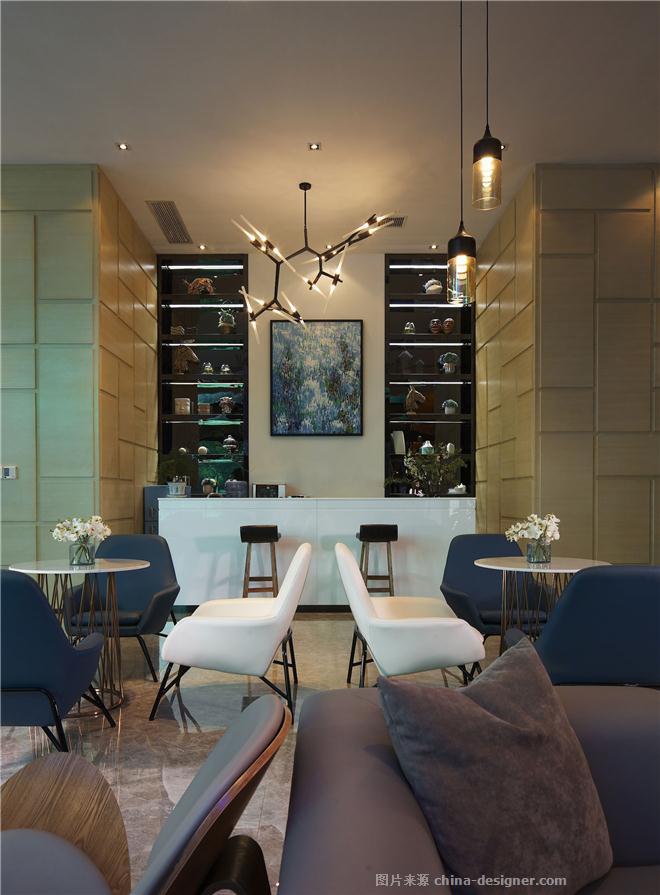 福星惠誉红桥城K3项目营销中心-张纪中的设计师家园-售楼处,混搭,简约大气