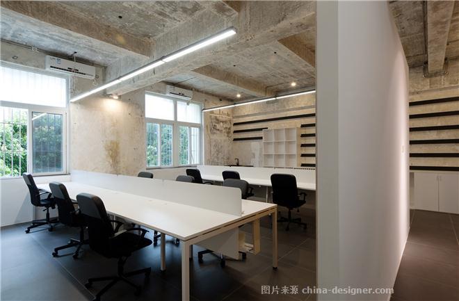 一乘建筑事务所自用办公室-张博的设计师家园-公共区,办公区,现代简约,其他气氛,白色