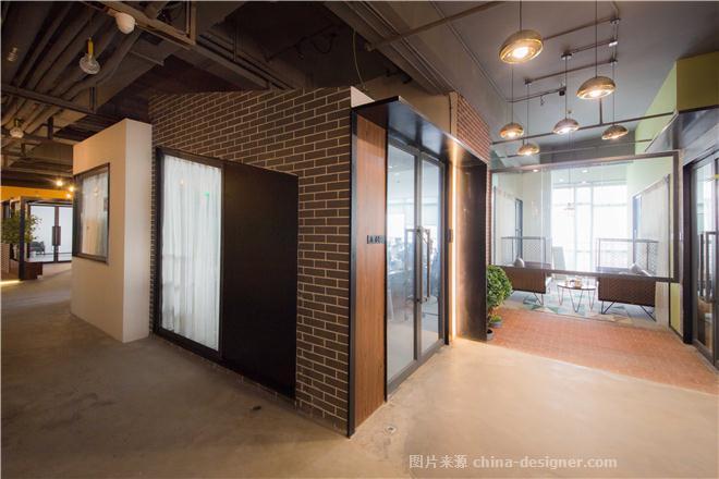 阿基米互联网公社-联合办公-张博的设计师家园-服务大厅,公共区,请选择,紧凑灵活,青春活力,绿色,黑色,灰色,橙色,黄色