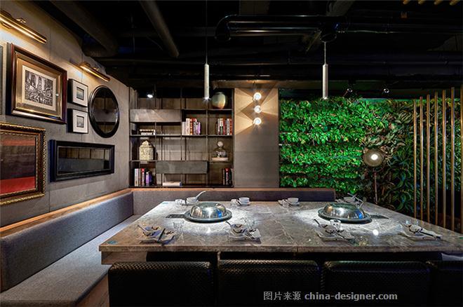 福州爱丽丝花园・蒸先生火锅餐厅-李柱明的设计师家园-其他                                                                                                ,主题餐厅,火锅店,中餐厅,其他风格,工业化,原生态,简约大气,闲静轻松,黑色