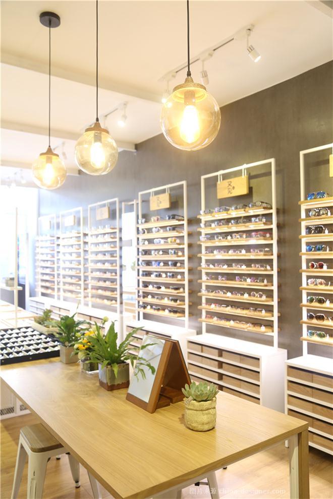 珠海眼镜店设计   又见-珠海空间印象建筑装饰设计有限公司的设计师家园-钟表眼镜店,现代简约,空间印象,简约大气,闲静轻松