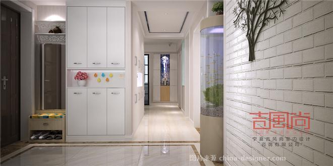 银川新医院小区135平家装设计-伍吉贤的设计师家园-三居,北欧式,黄色,原生态,青春活力,简约大气