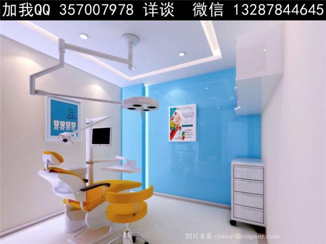 口腔诊所设计案例效果图-室内设计师93的设计师家园-口腔诊所,医院