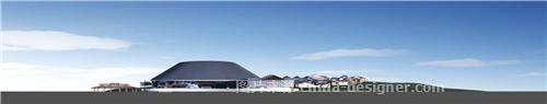 【观光旅游地产规划设计】泰安旅游集散中心-珠海空间印象建筑装饰设计有限公司的设计师家园-现代简约,简约大气,青春活力,闲静轻松