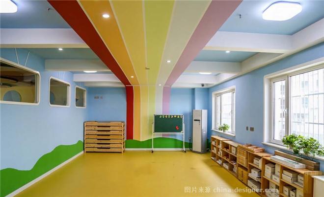 幼儿园色彩斑斓的艺术-香港正星装饰河南总公司的设计师家园-幼儿园