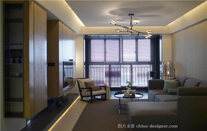 空间游走―上海白银时代住家室内设计案-倪益新的设计师家园-四居,现代简约,白色,闲静轻松,简约大气