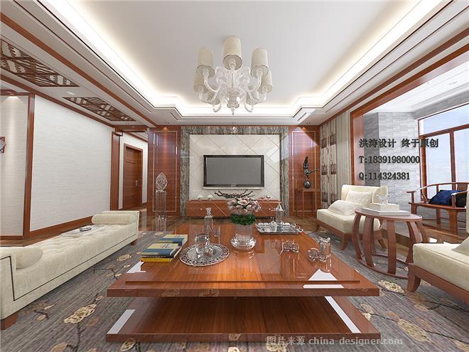 2017-蔷薇溪谷1-张洪涛的设计师职称:洪涛设计室内建筑设计师家园图片