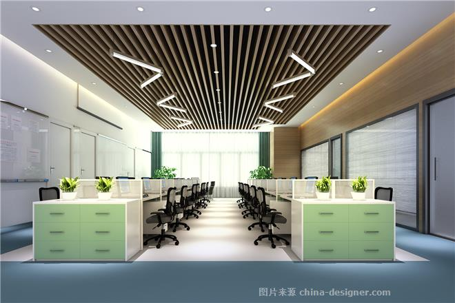 链家网武汉交易大厅-张念伟的设计师家园-服务大厅,办公区,黄色,简约图片