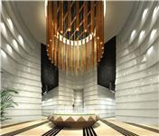 设计师家园-叠彩中心写字楼大堂及临时销售中心