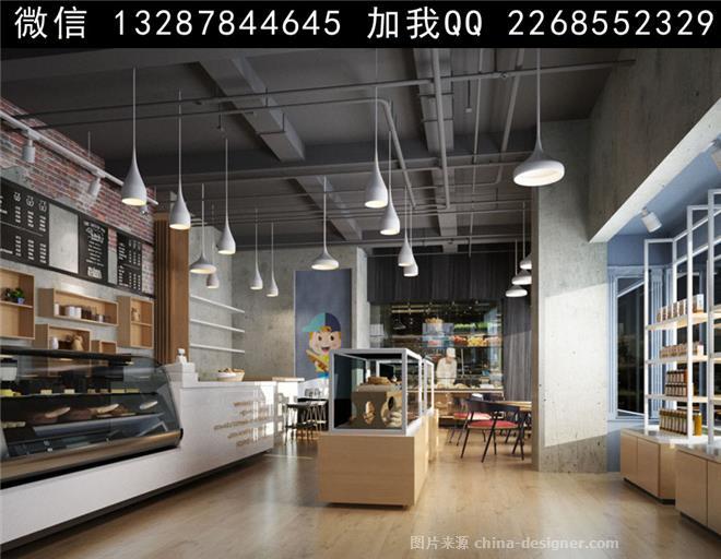 蛋糕店面包店设计案例效果图-室内设计师93的设计师家园-饮品店,蛋糕
