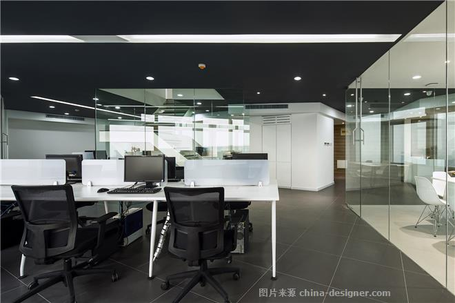 无界.-陶胜的设计师家园-办公区,现代简约,黑色,白色,闲静轻松,简约大气