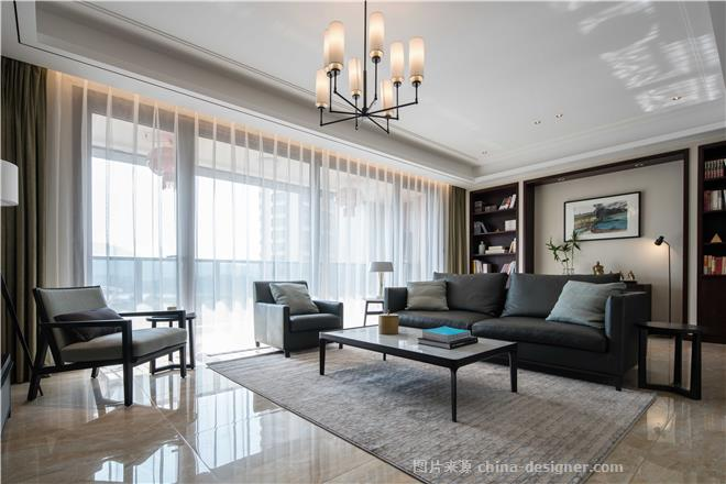 东方感,现代家-谢立城的设计师家园-四居,现代简约,灰色,白色,黑色