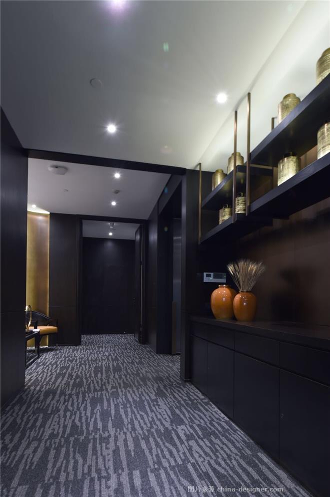 弘昌晟集团办公空间室内设计案-倪益新的设计师家园-其他                                                                                                ,办公区,都会风格,黑色,沉稳庄重,奢华高贵,其他颜色