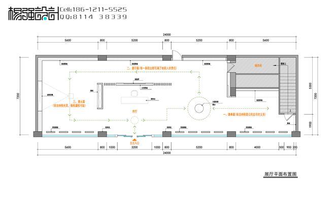 机关单位展厅设计—杨强设计-北京禾美装饰设计有限公司的设计师家园图片