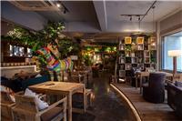 设计师家园-700�O自然主题咖啡厅・享自然森林之美