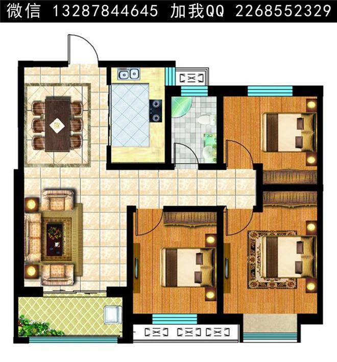 户型图 装修效果图 房间平面图 家装 装修 装修户型图 房子户型图