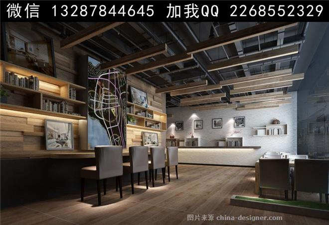 书店 书吧 图书馆设计案例效果图-室内设计师93的设计师家园-剧院