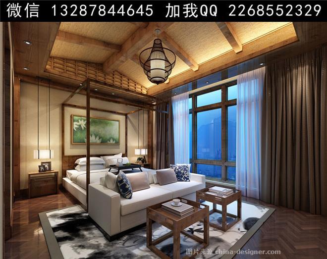 主题酒店,度假村,政务酒店,现代简约,卧室 家具背影 衣柜 床 妆台