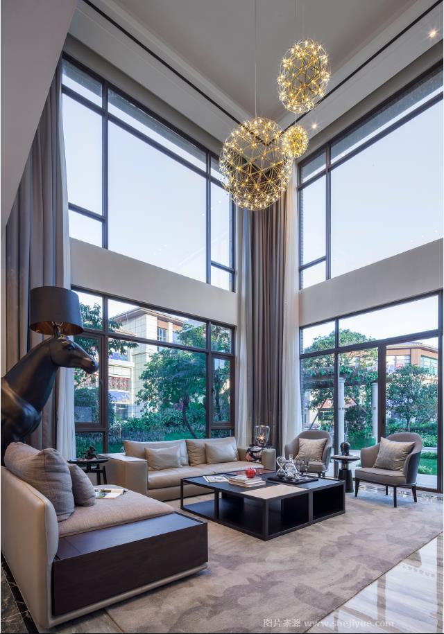 生活?家 十里江湾b020别墅样板房-李超的设计师家园
