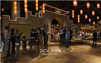 设计师家园-西安主题餐饮综合体室内设计《庆州老街》