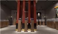 设计师家园-颂钵精品藏传文玩展厅软装设计