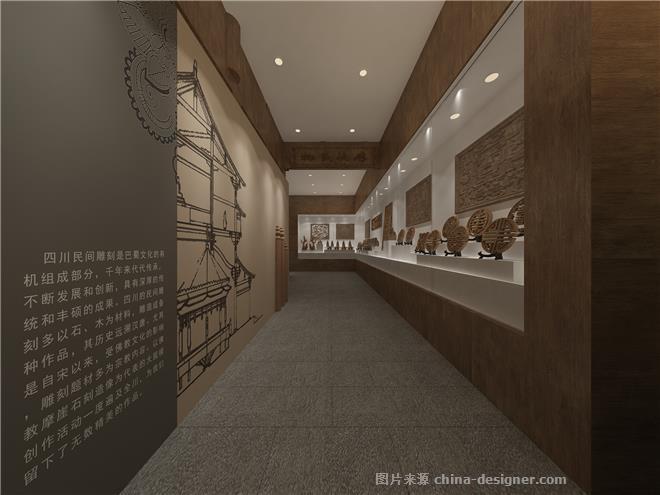 川东民俗博物馆室内展陈设计-阿森的设计师家园-展览馆,民族风格,简约大气,其他颜色