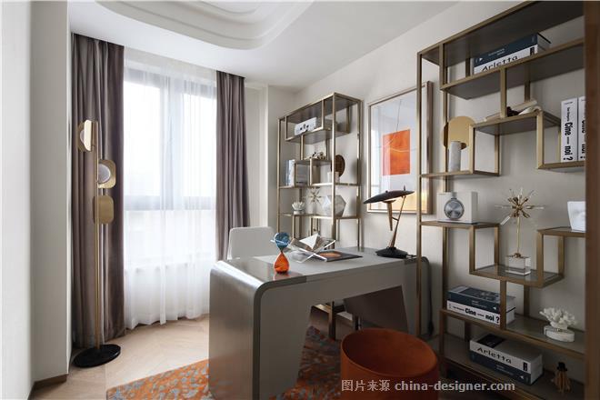 光影装饰|东方城市豪庭三期B1户型-芮颖的设计师家园-住宅样板间,后现代主义,橙色,灰色,红色,蓝色,沉稳庄重,奢华高贵,闲静轻松,简约大气
