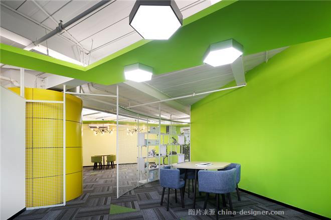 文华权设计-程趣教育机器人儿童培训项目-文华权的设计师家园-培训中心,现代简约,紧凑灵活,青春活力,彩色