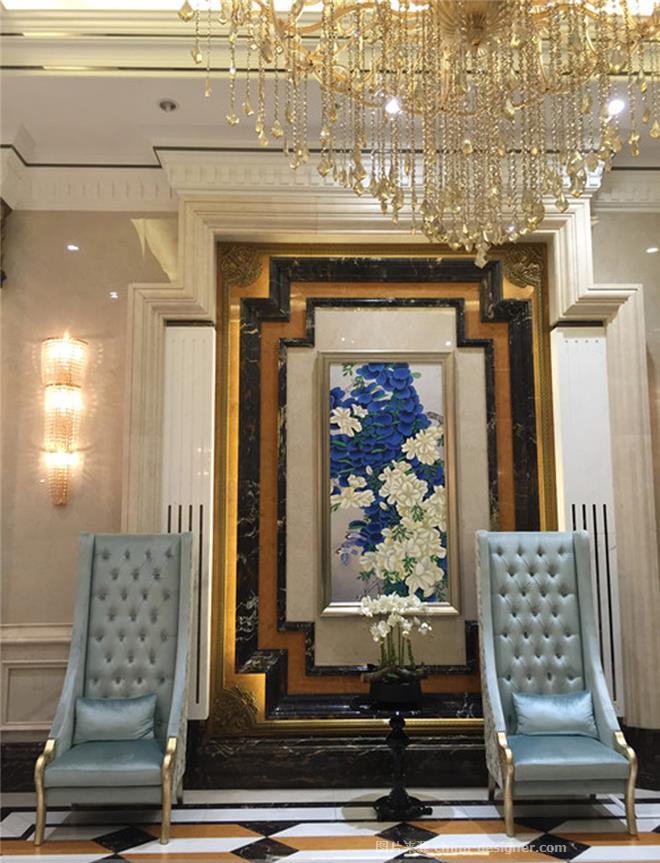 广州凤凰城套房-王奕的设计师家园-三居,后现代主义,黑色