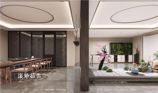 大益茶--茶室-项茹雪的设计师家园-茶馆,新中式,闲静轻松