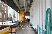 设计师家园-西安-EB眼镜咖啡主题餐厅室内外装修设计