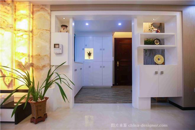内敛又豪华的雅居-关锦灿的设计师家园-三居,现代简约,灰色,白色,青春活力,闲静轻松,简约大气
