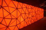 深圳市恒丰达膜结构有限公司-橘色空间 展会多面异形软膜造型