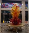 广州唐煌玻璃有限公司-吹制玻璃雕塑,大堂玻璃装饰