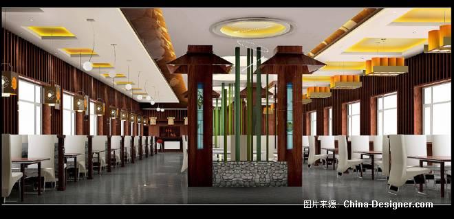 火锅店2-赵艳平的设计师家园-中式图片