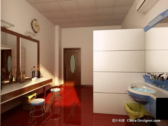 化妆室-孟科的设计师家园-衣帽间