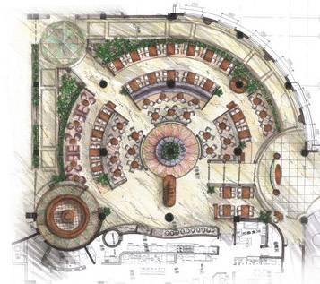 011-1f自助餐厅平面图-林杰智的设计师家园-欧式