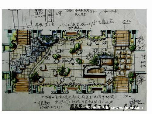书吧设计-屈建红的设计师家园-绿色,田园图片