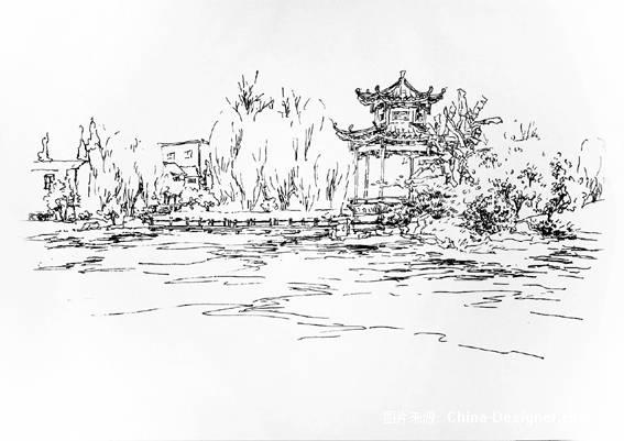 风景写生作品-xx蓉的设计师家园-风景写生作品
