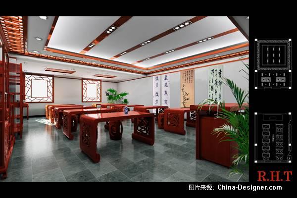 書法教室-高順利的設計師家園-中式