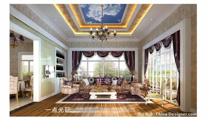 偏厅-一点光延的设计师家园-200万以上,客厅,奢华,温馨,欧式