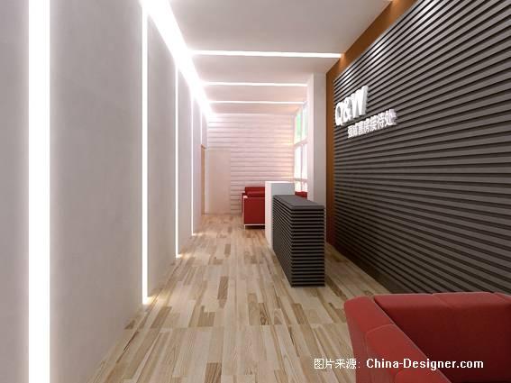 接待-光与影的设计师家园-1-5万,办公室,白色,现代
