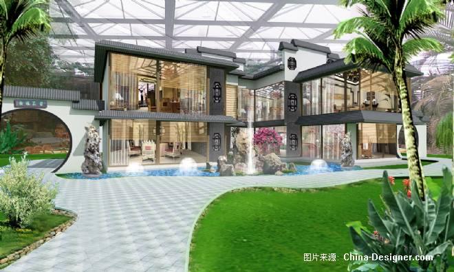 江南风格-马鸿敬的设计师家园-200万以上,黑色,田园,中式