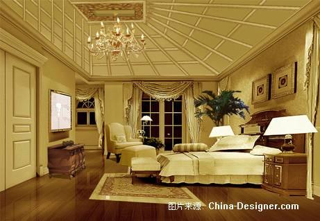 东方威尼斯别墅效果4-张洪滨的设计师家园-200万以上,别墅,客厅,白色图片