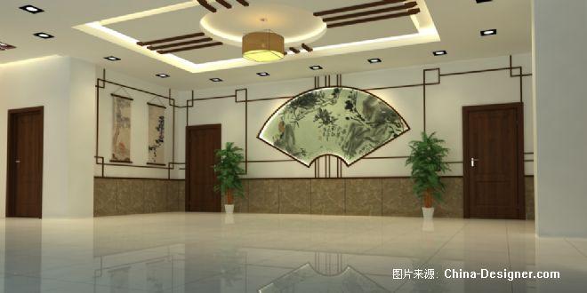 苏州浦庄美术馆门厅2-陶新建的设计师家园-现代,中式图片